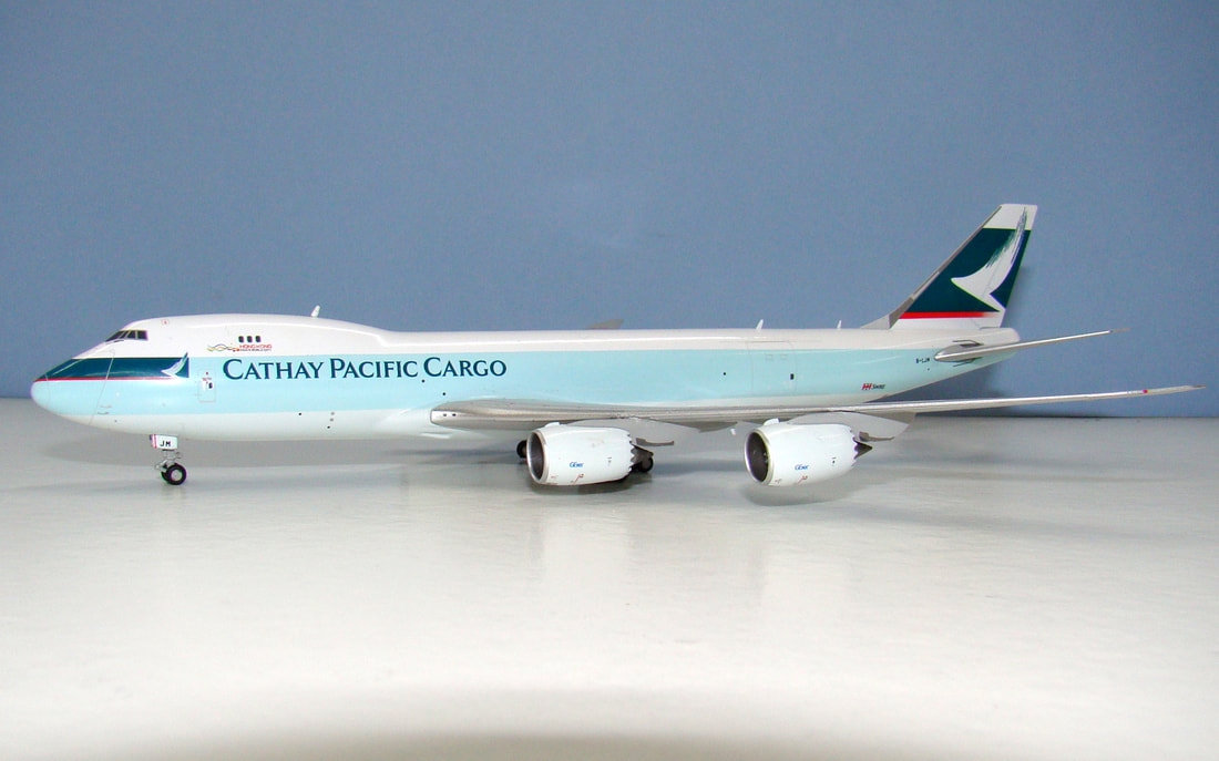 Herpa Wings 1:400 Lockheed  L-188 Cathay Pacific
