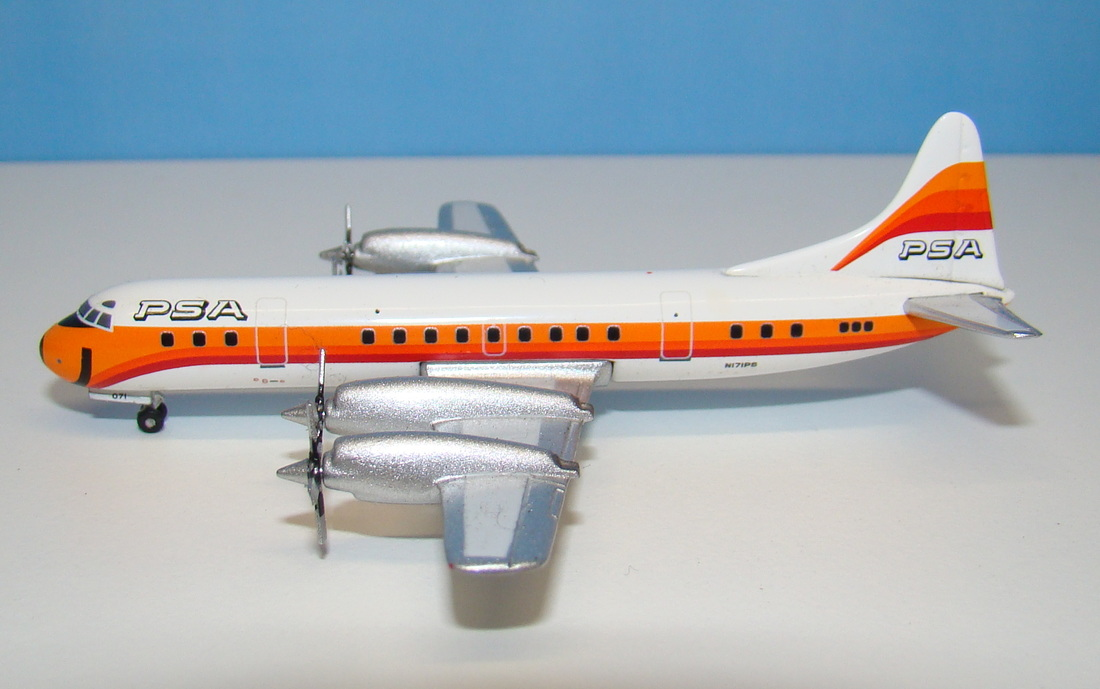 Lockheed L-188 Electra 1:400 Scale Mould Review